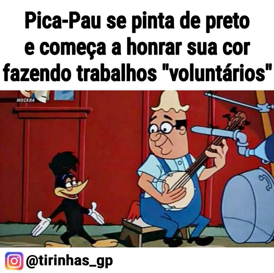 Pica Pau - meme