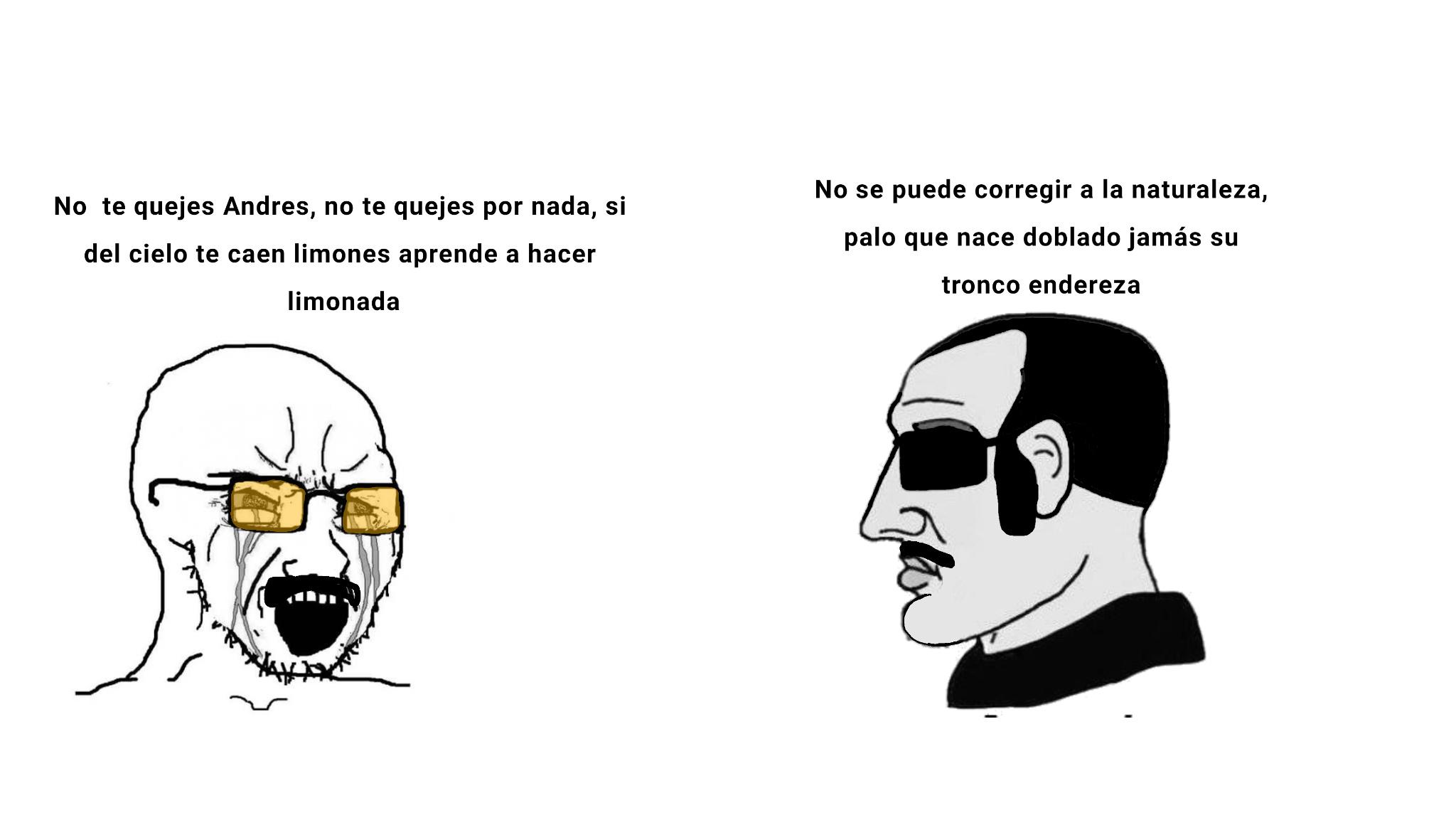 Alto chad el Andrés - meme