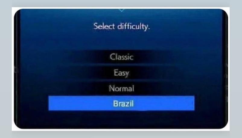 O Brasil não é para os fracos... - meme