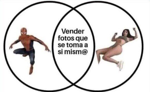 Peter Parker Ya Hacia Antes Lo Que Ahora Se Hace En OnlyFans - meme