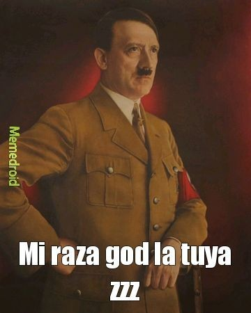 Hitler shitposter - meme