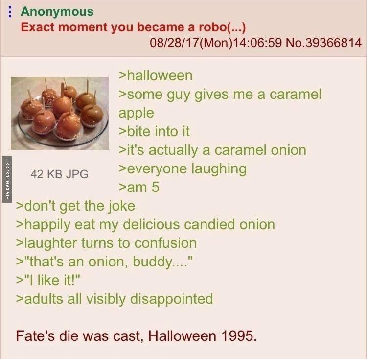 the halloween of 1995 - meme