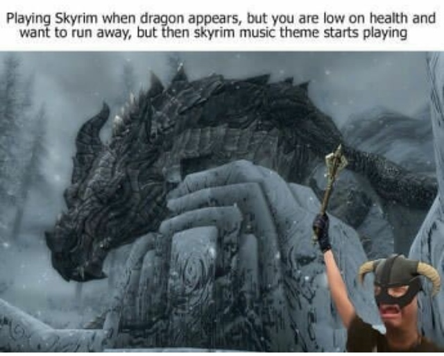 For Skyrim! - meme
