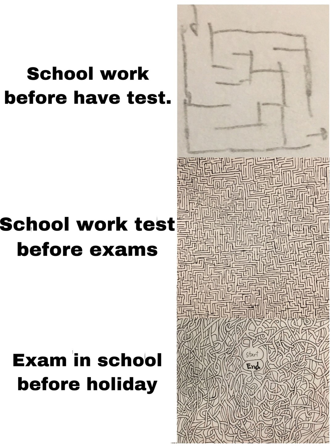 school bay before holiday - meme