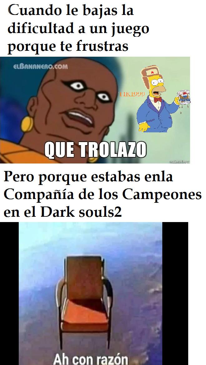 Dark souls xd - meme