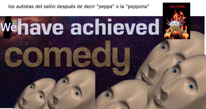 decir peppa no es gracioso - meme