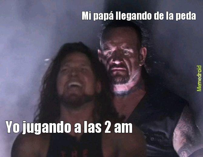 NOO PAPÁ SOLO ERA UN RATITO - meme