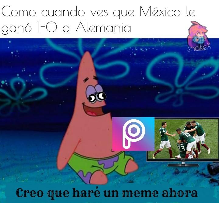 Igual felicitaciones a todos los Méxicanos, espero que ganen el mundial! - meme