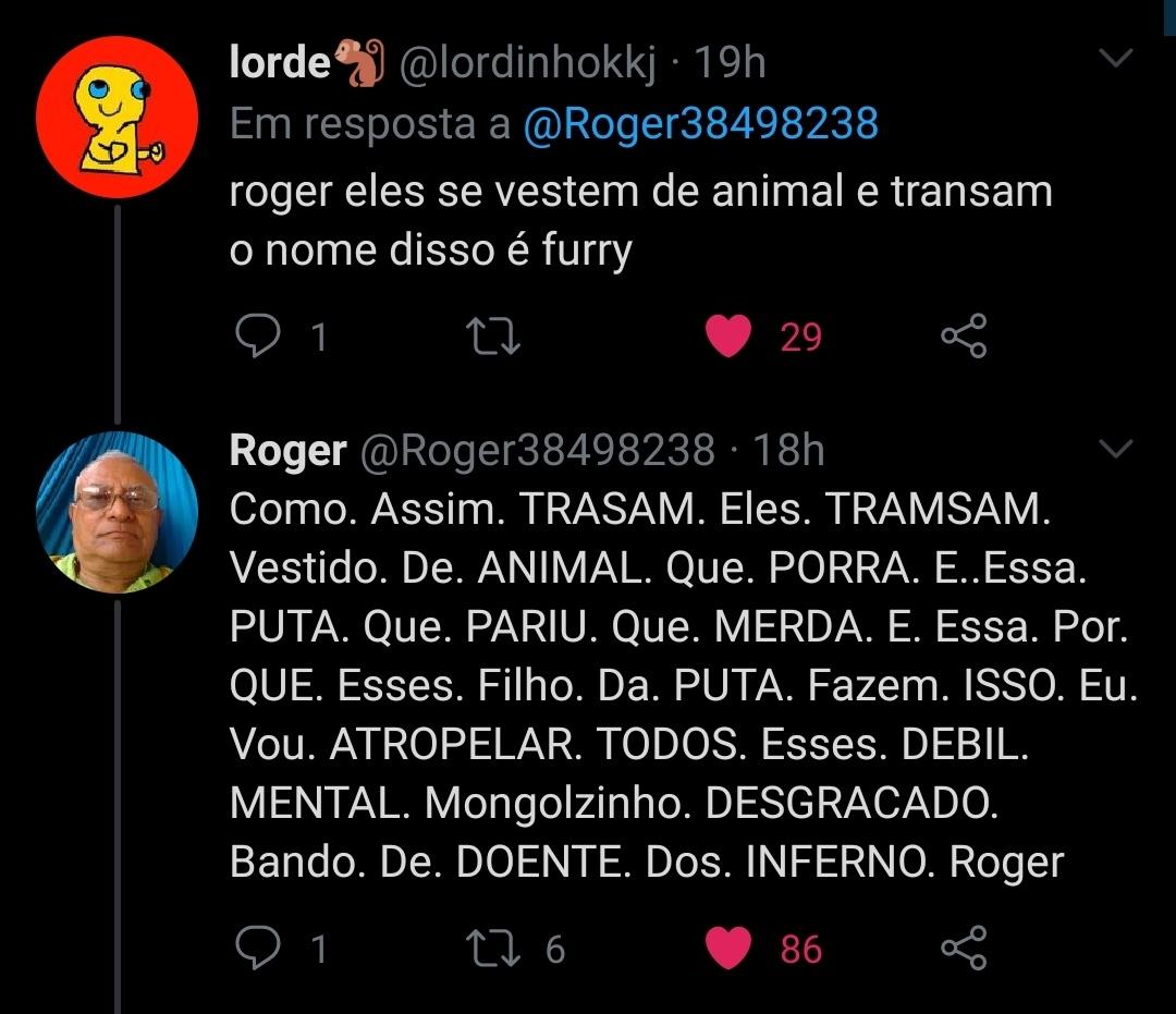 Roger - meme