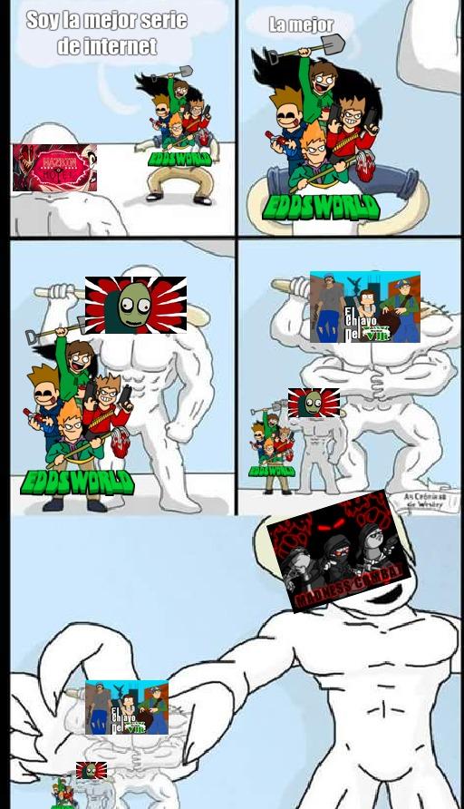 La mejor serie de internet - meme