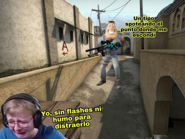 No compar granadas es un error común, si no tenés guita, comprá subfusil - meme