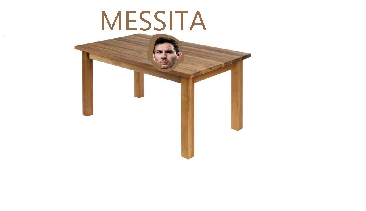 MESSITA (por el meme de messirvo, messiento y messirve)