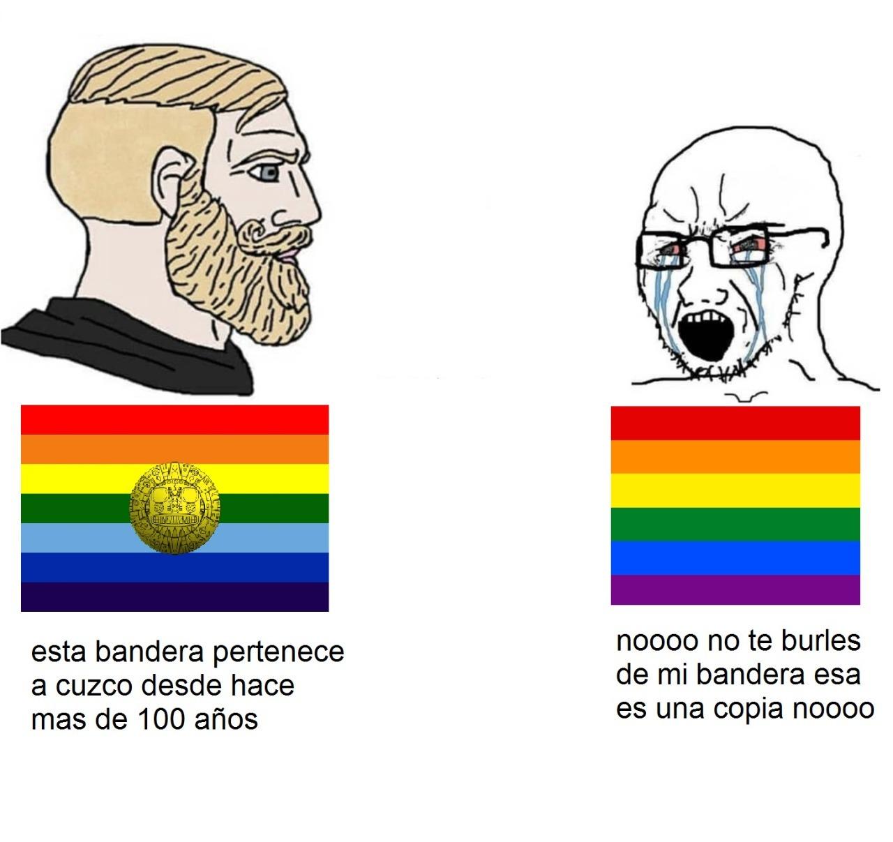 Cuzco es un departamento del Perú - meme
