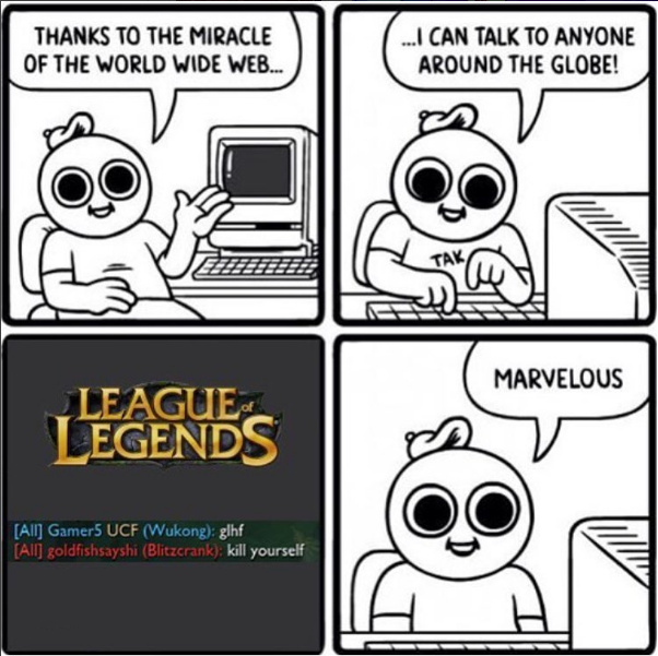 League in a nutshell - meme