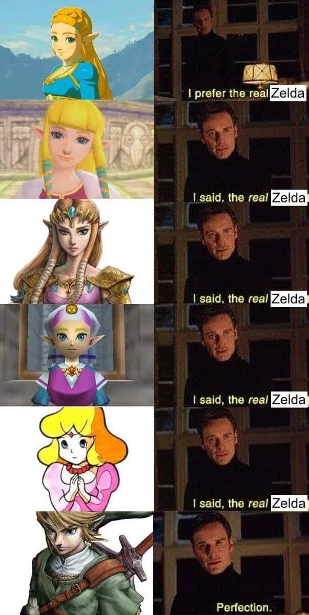 Esse é o zelda sim - meme