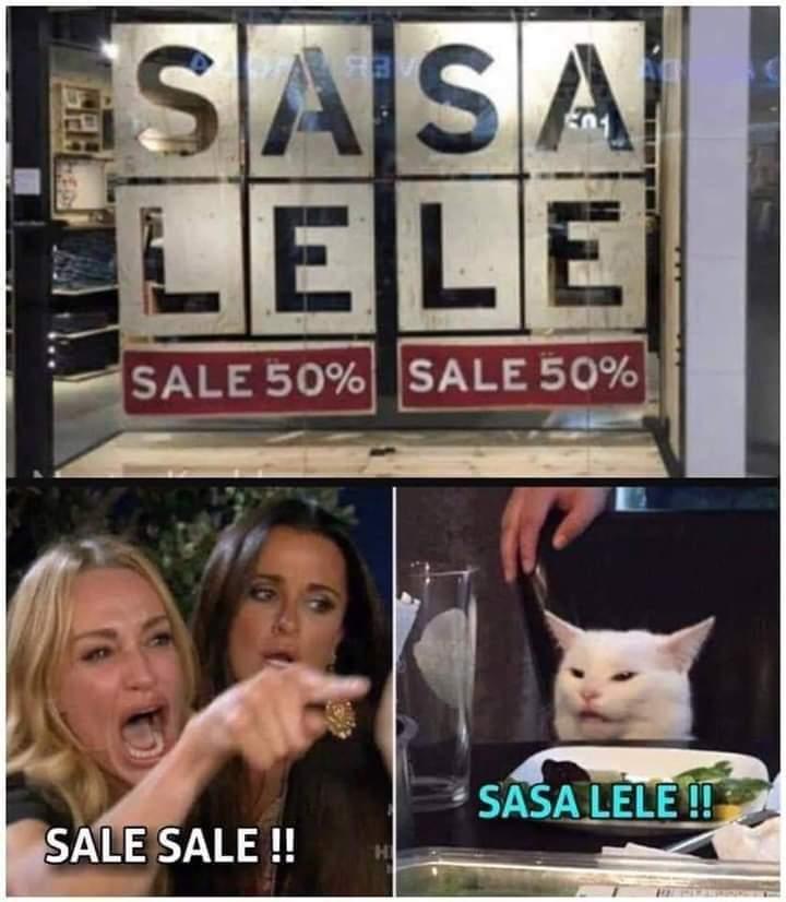Sasa Lele - meme