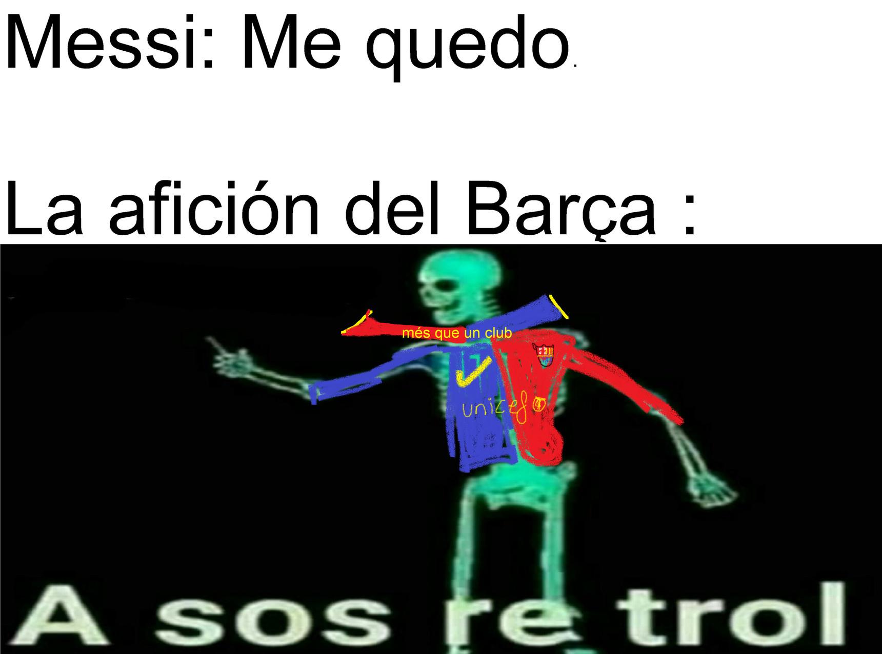 DIJE QUE SE QUEDARÍA Y SE QUEDÓ - meme