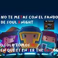 contexto de las letras: en el titulo de el juego aparece asi xd