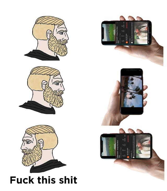 Auto rotate - meme