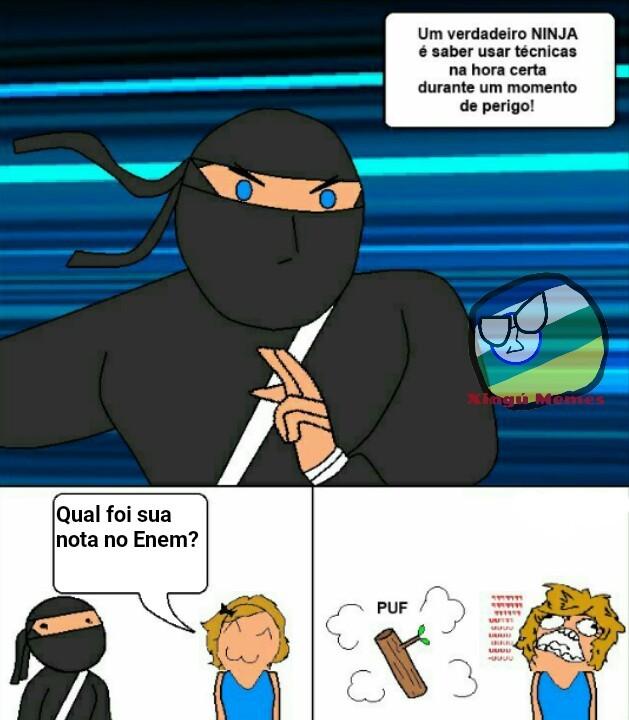 Naruto é meu ovo - meme