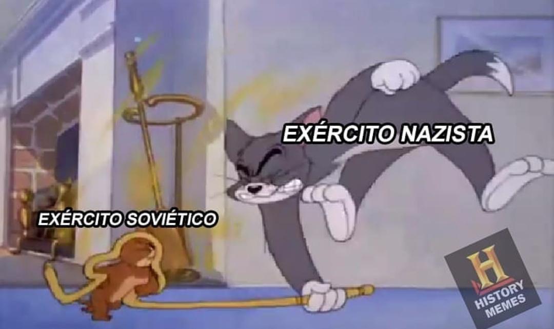 Glória à Leningrado - meme