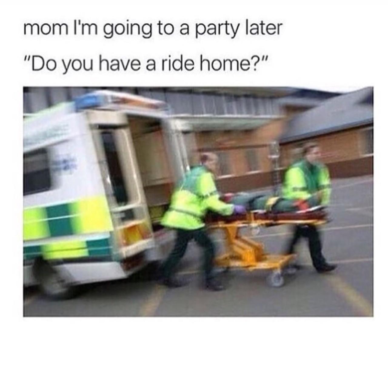 Drunk tank wake ups - meme