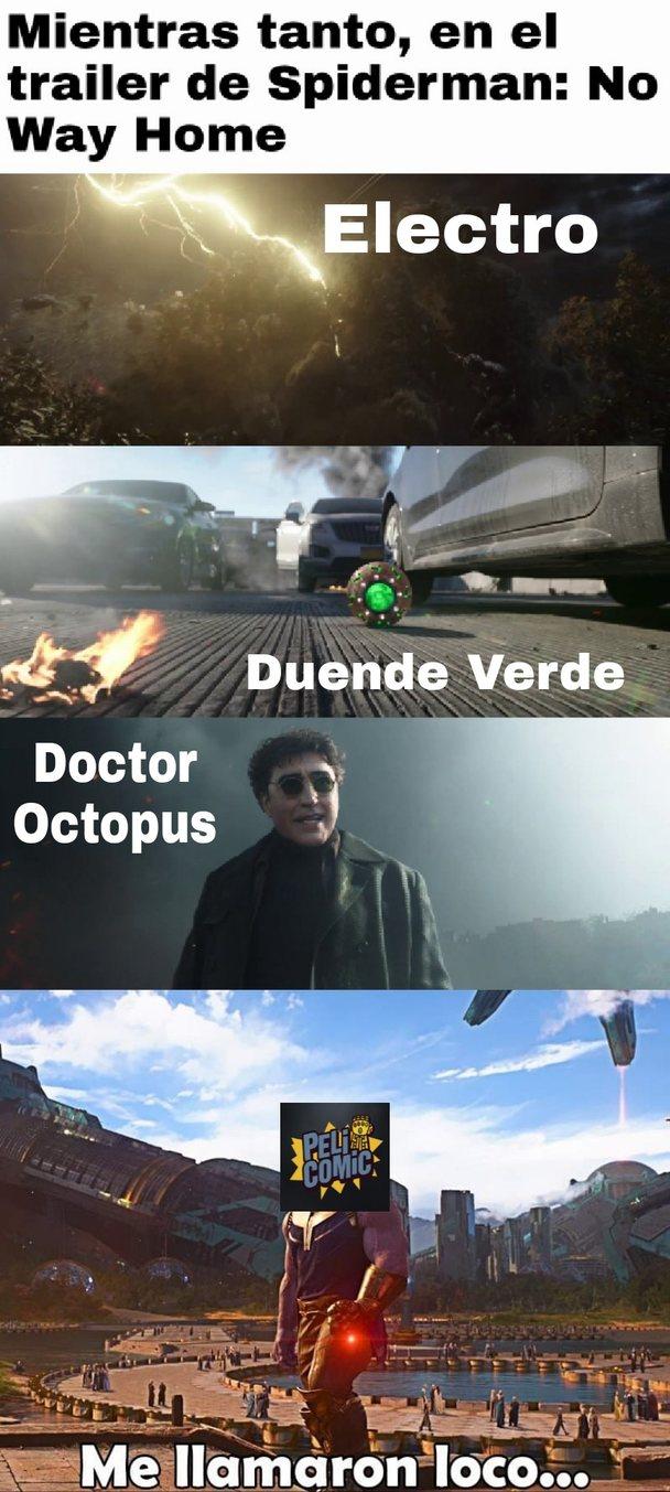 Al final parece que el spiderverse es real - meme