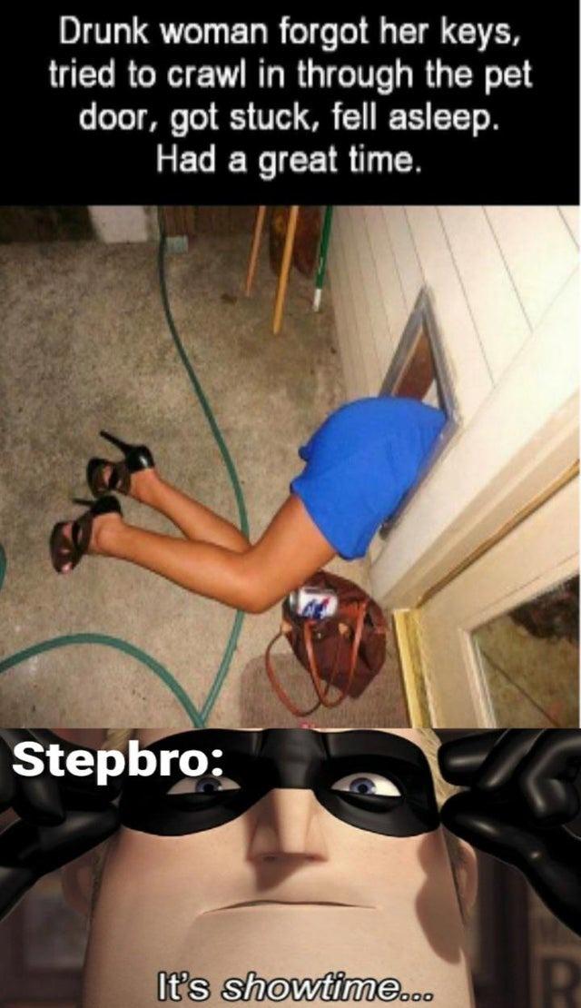 Steep hoe - meme