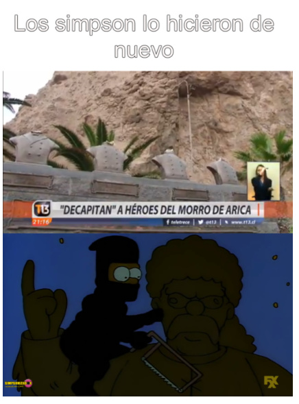 ese Bart es un loquillo - meme