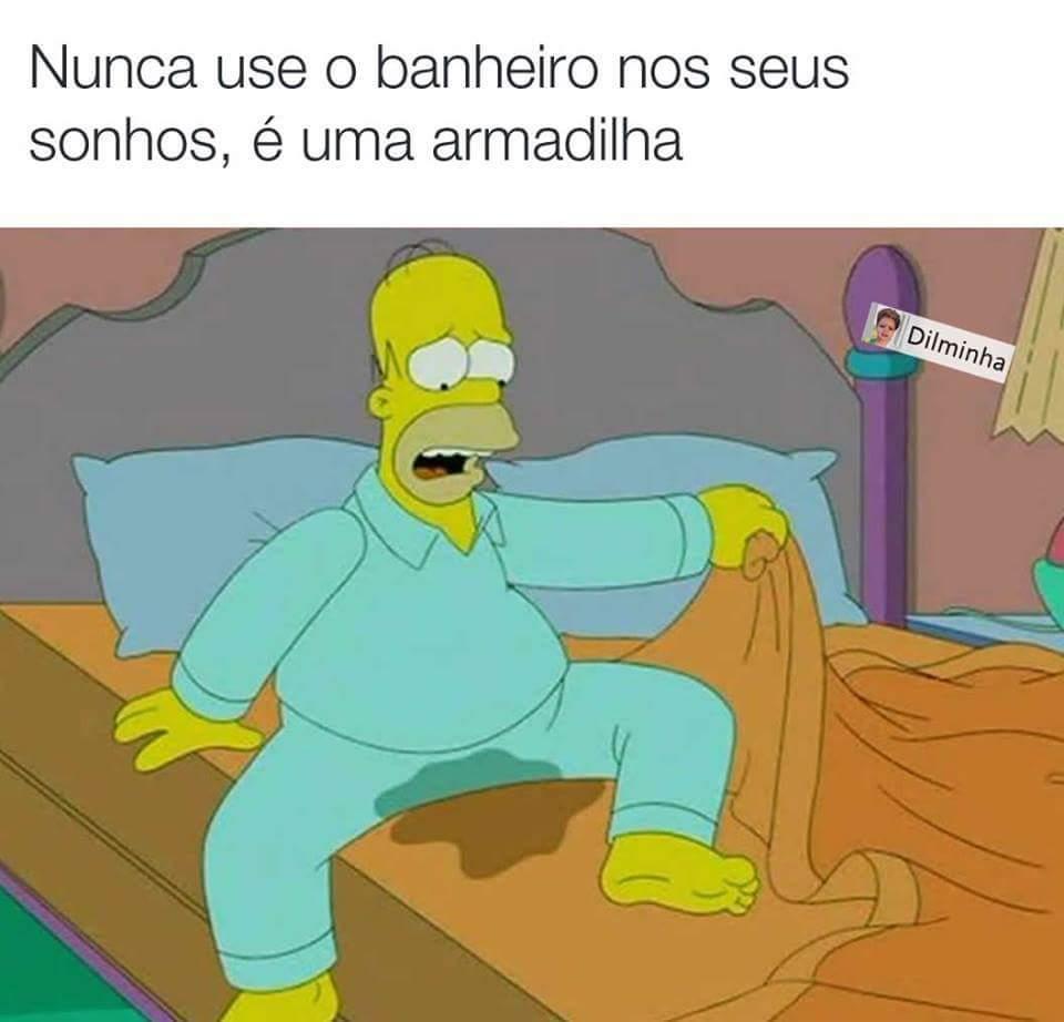 Molhado kkkk - meme