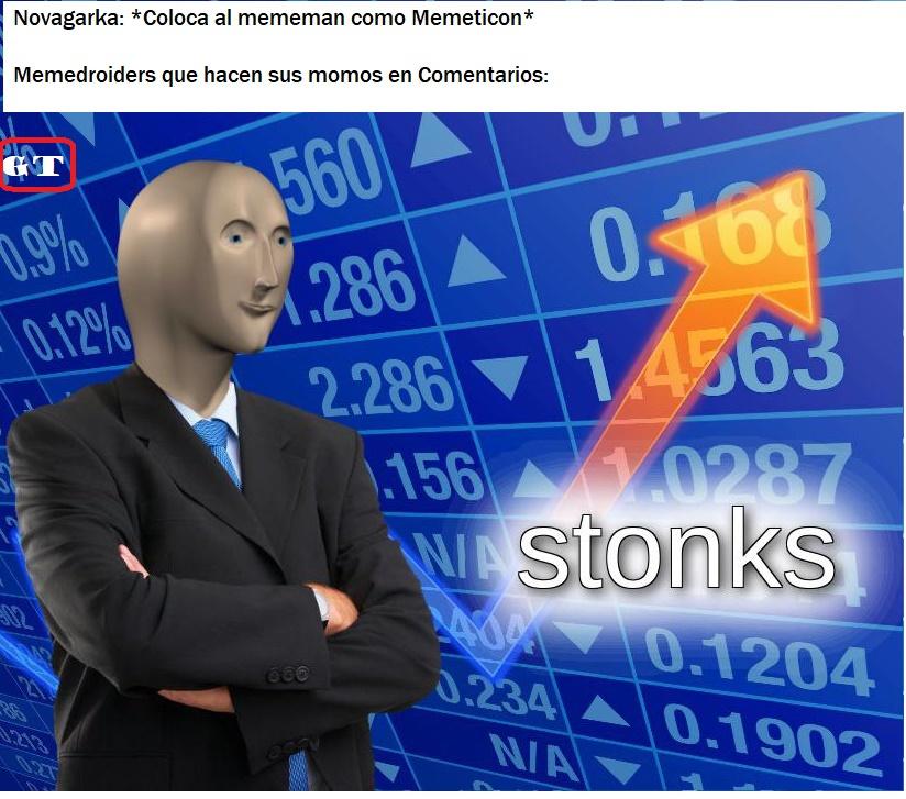 Stonks :mememan: ↗