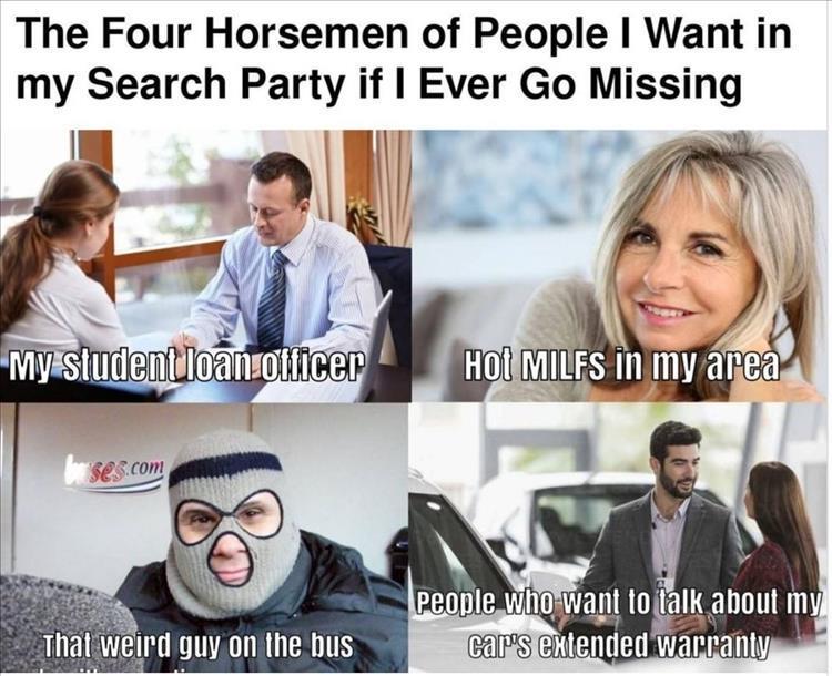 Search party like it's 1999. - meme