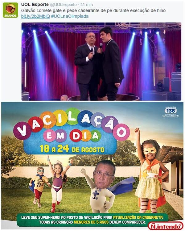 #calaabocagalvão - meme