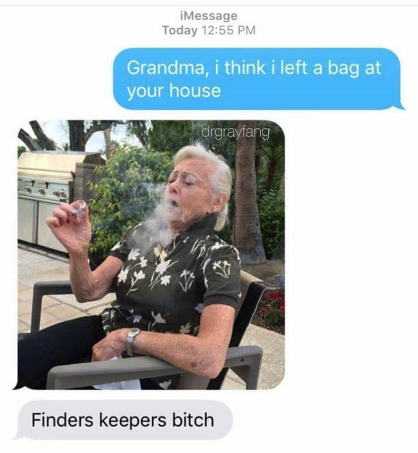 Best fuckin grandma - meme