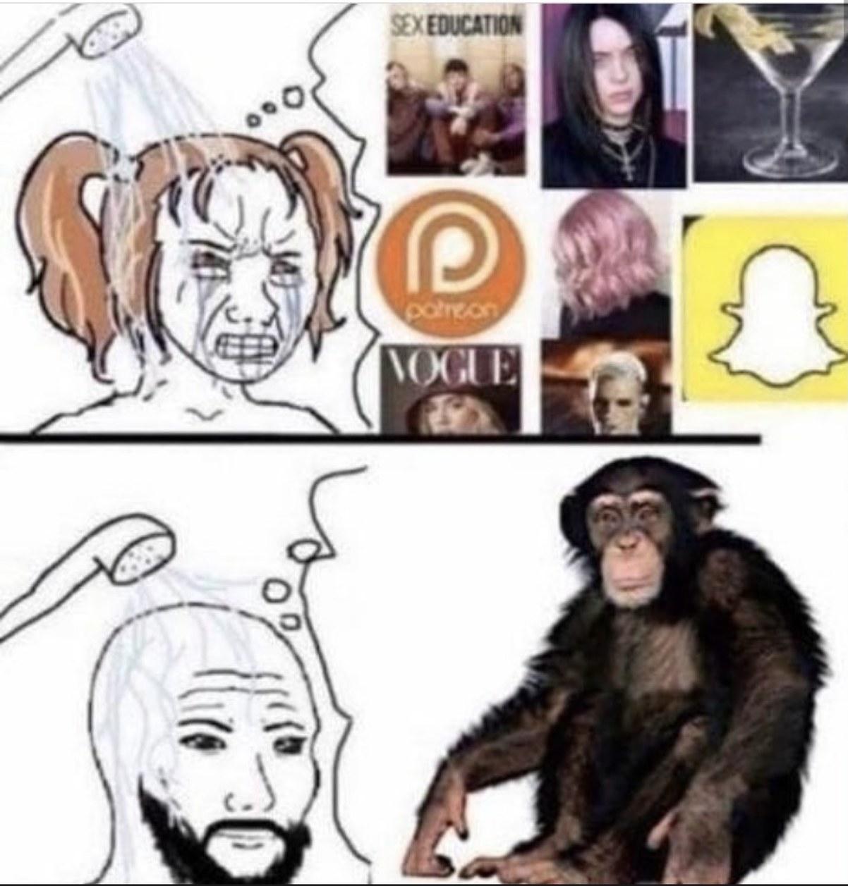 MMMMONKE - meme