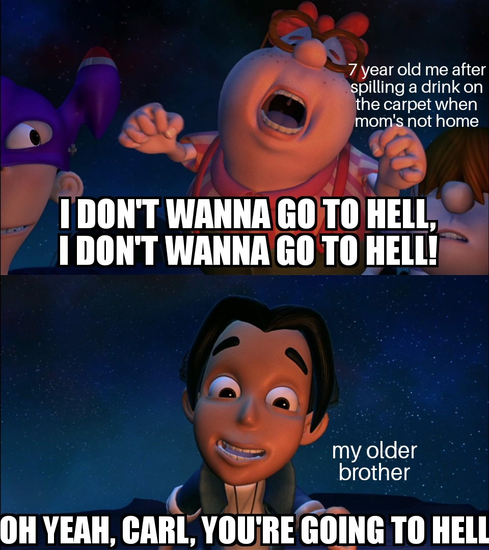 Oh yeah, Carl. - meme