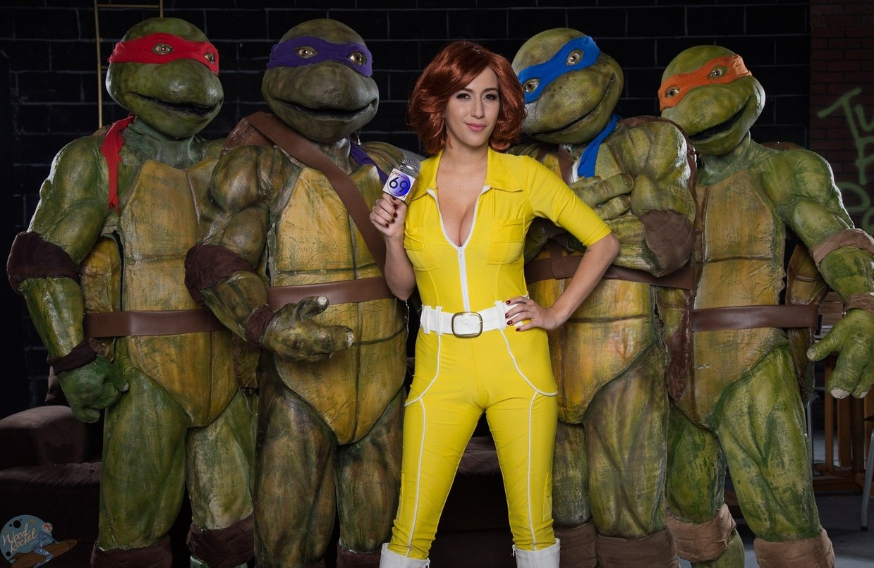 Acho que baixei o filme das tartarugas ninja errado. - meme