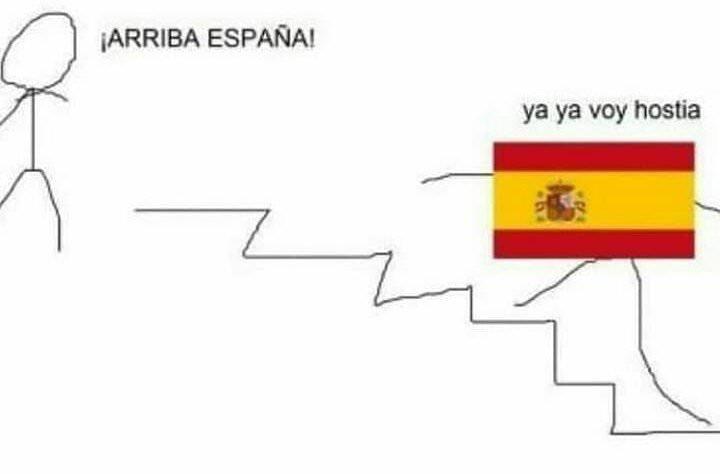 ARRIBA ESPAÑA!!! - meme