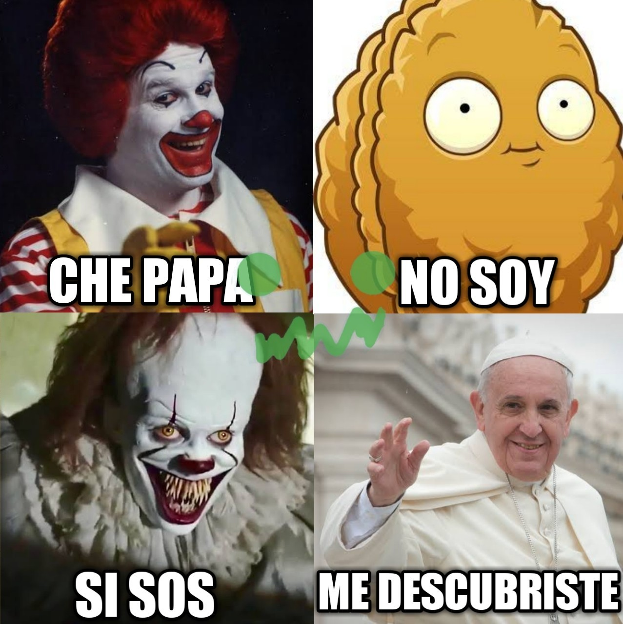 La papa del pvz, un honorable sacrificio - meme