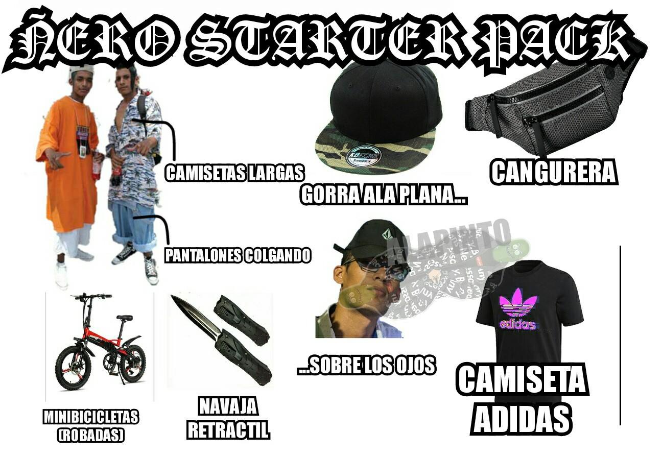 ÑERO STARTER PACK - meme