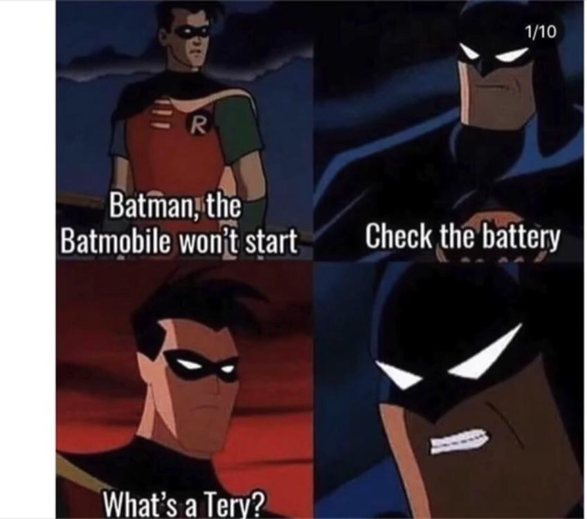 Bat-tery - meme