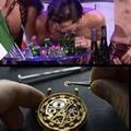 Contexte : Le chanteur italien de l'Eurovision a été suspecté d'avoir sniffé de la cocaïne en direct grâce à cette image
