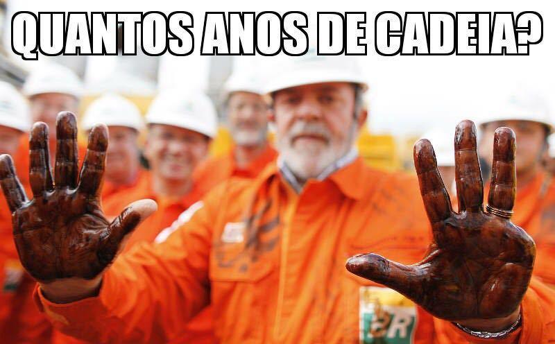 Sergio Moro declara que o reu so pode pegar de pena os dedos que tem na mão #pesadao - meme