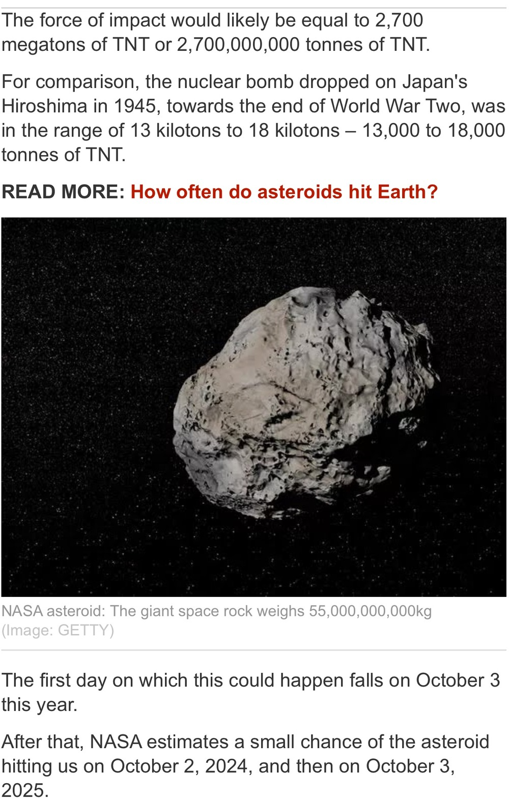 "I want to call this asteroid ""Thanos"". - meme"