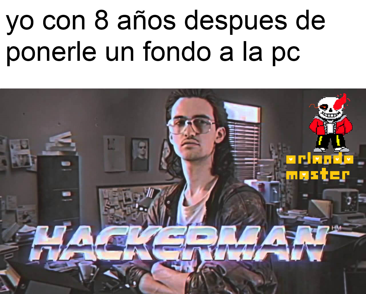 re capo el hacker - meme