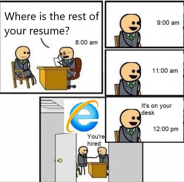 slow explorer - meme