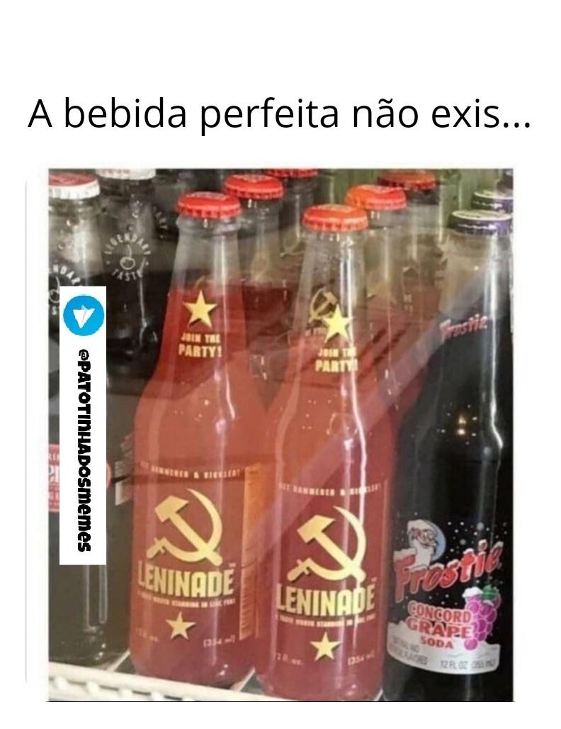 Bebida perfeita não exis... - meme