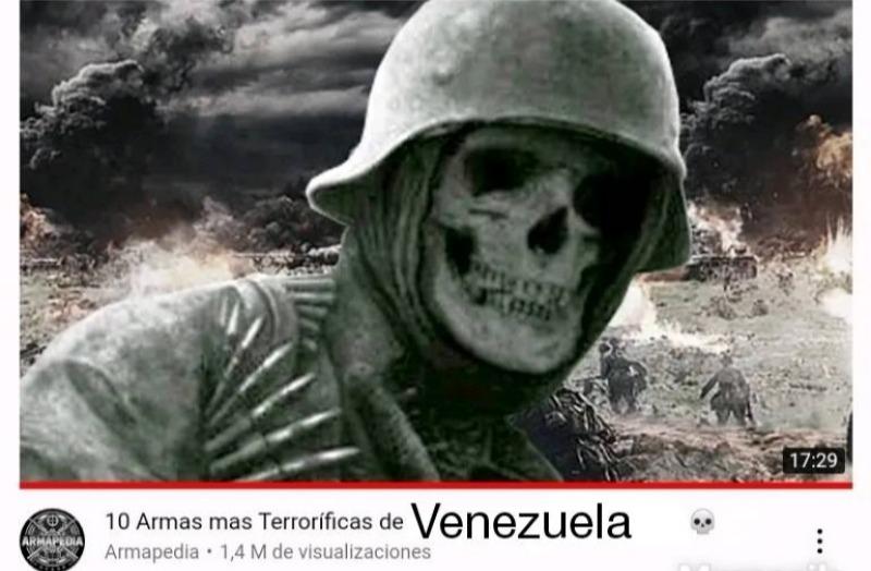 Por cierto ese video existe pero no tiene a Venezuela - meme