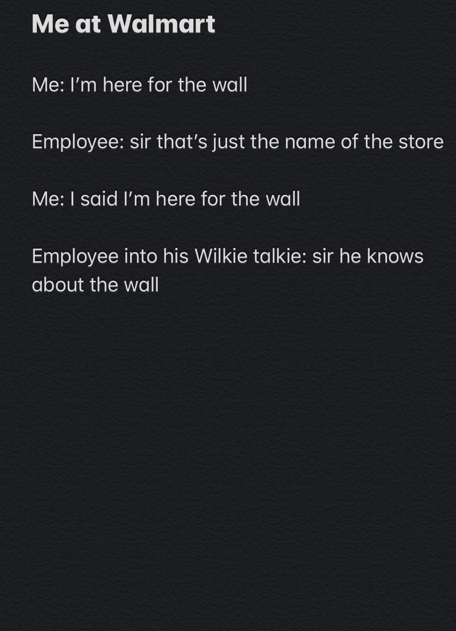 TheWall - meme