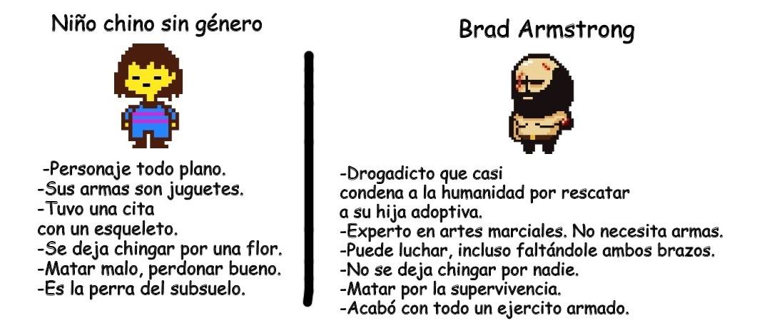 Todo un Chad el Brad Armstrong - meme